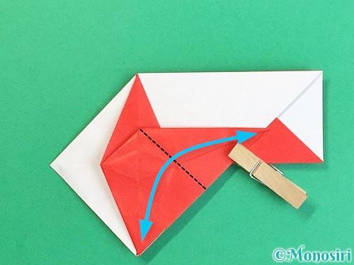 折り紙で鶴の箸袋の折り方手順46