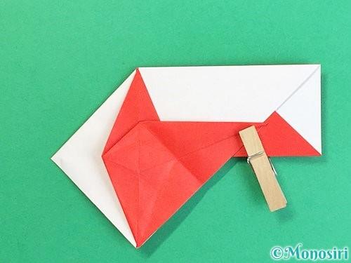 折り紙で鶴の箸袋の折り方手順47