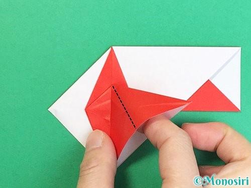 折り紙で鶴の箸袋の折り方手順48