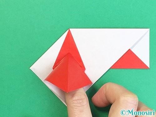折り紙で鶴の箸袋の折り方手順49