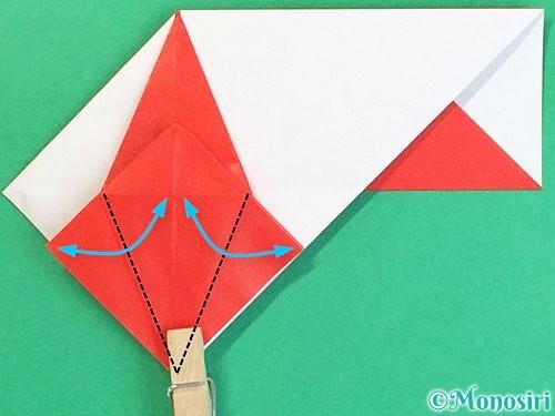 折り紙で鶴の箸袋の折り方手順51