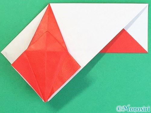 折り紙で鶴の箸袋の折り方手順52