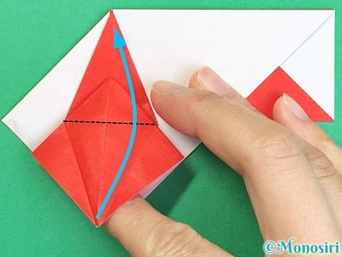折り紙で鶴の箸袋の折り方手順53