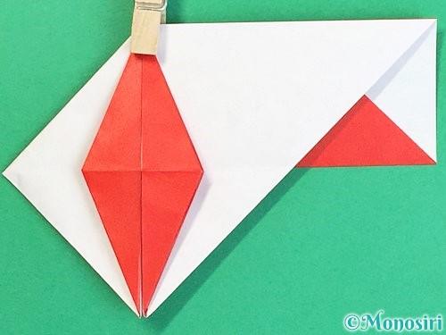 折り紙で鶴の箸袋の折り方手順55