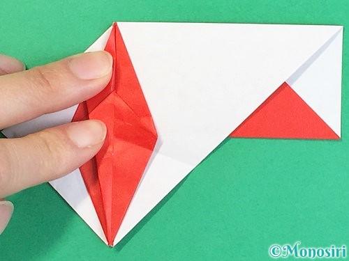 折り紙で鶴の箸袋の折り方手順61
