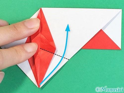 折り紙で鶴の箸袋の折り方手順62