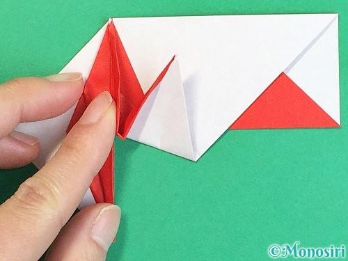 折り紙で鶴の箸袋の折り方手順65