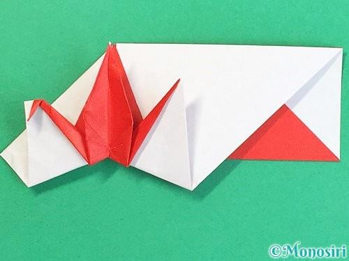 折り紙で鶴の箸袋の折り方手順69