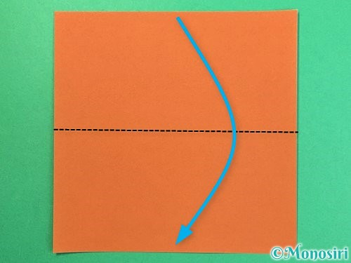 折り紙でトナカイの折り方手順27