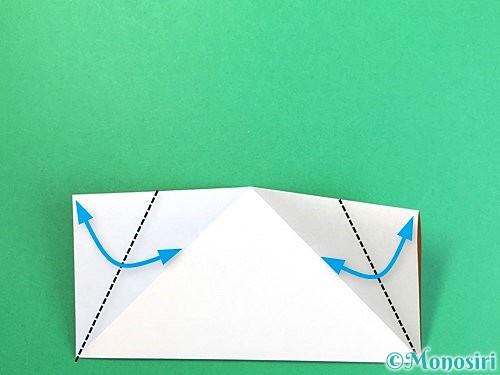 折り紙でトナカイの折り方手順31