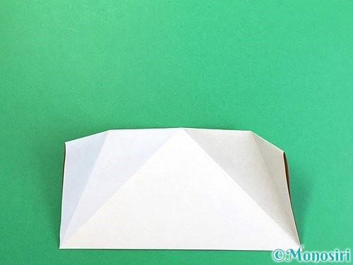 折り紙でトナカイの折り方手順32