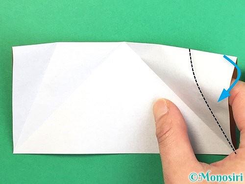 折り紙でトナカイの折り方手順33