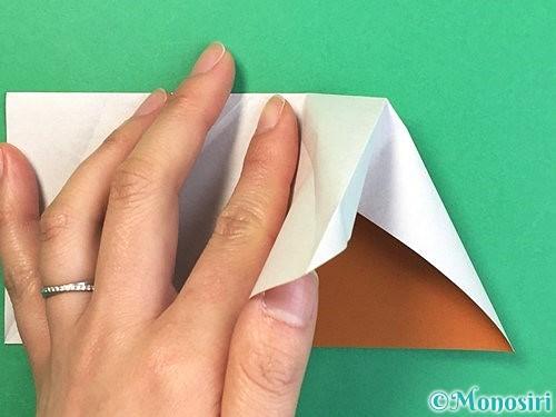 折り紙でトナカイの折り方手順35