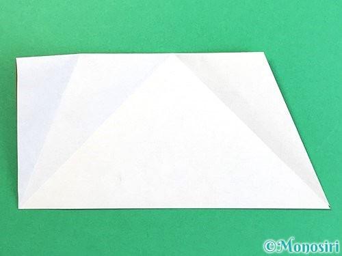 折り紙でトナカイの折り方手順36