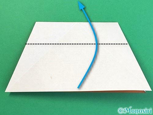 折り紙でトナカイの折り方手順38