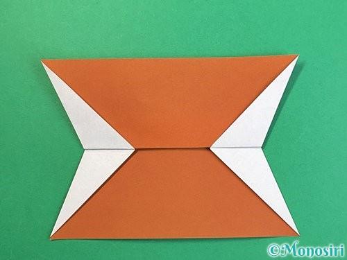 折り紙でトナカイの折り方手順39