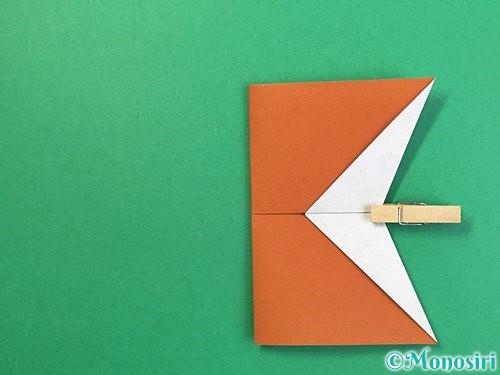 折り紙でトナカイの折り方手順41