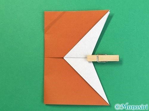 折り紙でトナカイの折り方手順46