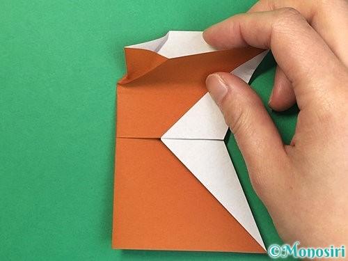 折り紙でトナカイの折り方手順51