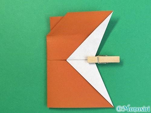折り紙でトナカイの折り方手順53