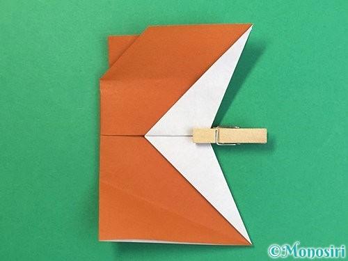 折り紙でトナカイの折り方手順55