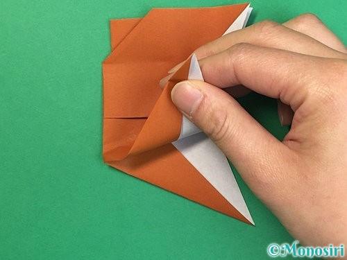 折り紙でトナカイの折り方手順57