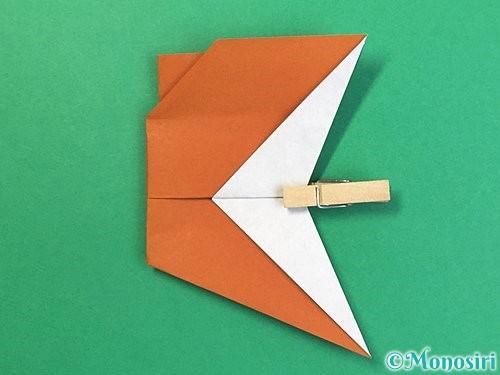 折り紙でトナカイの折り方手順58
