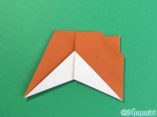 折り紙でトナカイの折り方手順59