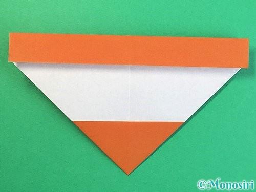 折り紙でトナカイの折り方手順10