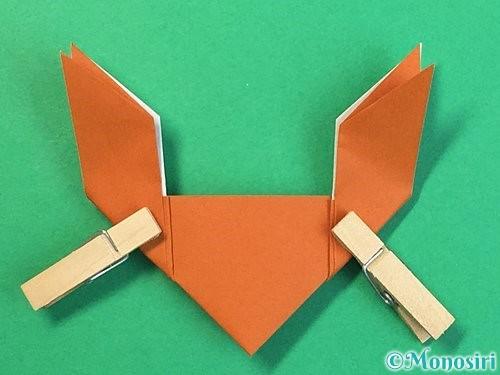折り紙でトナカイの折り方手順24