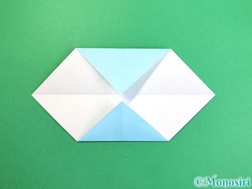 折り紙でソリの折り方手順4