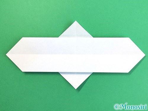 折り紙でソリの折り方手順8
