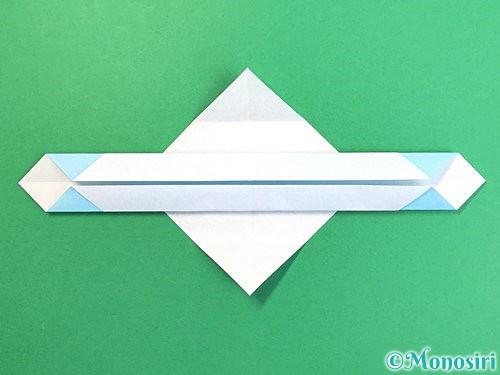 折り紙でソリの折り方手順10