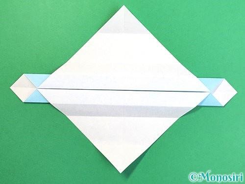 折り紙でソリの折り方手順12