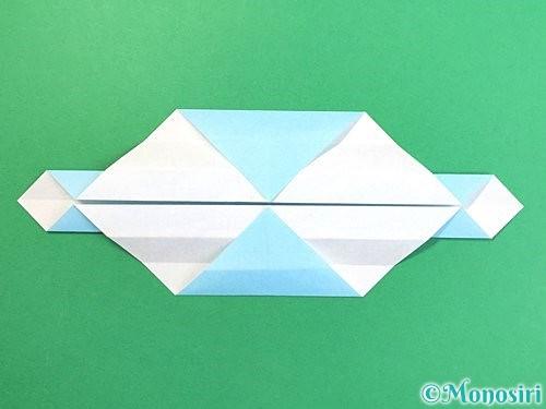折り紙でソリの折り方手順14