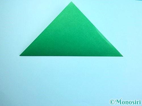 折り紙でクリスマスリースの作り方手順6