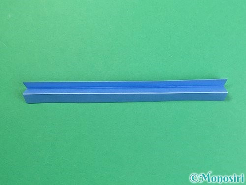 折り紙で箸置きの折り方手順8