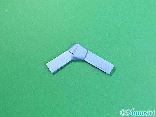 折り紙で箸置きの折り方手順9