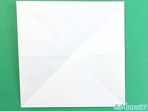 折り紙で鶴の箸置きの折り方手順5