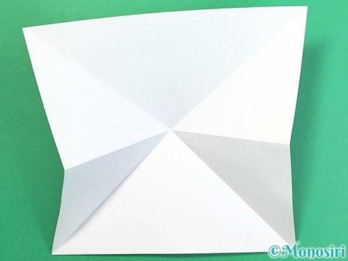 折り紙で鶴の箸置きの折り方手順6