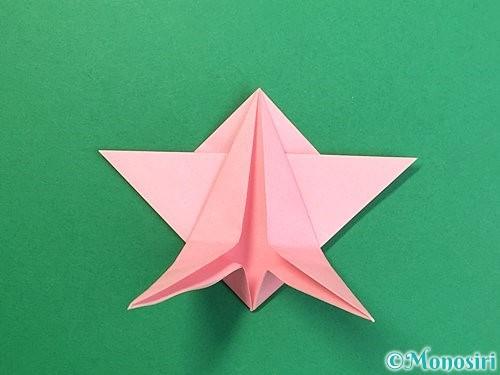 折り紙で鶴の箸置きの折り方手順30