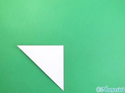 折り紙で立体的な富士山の折り方手順4