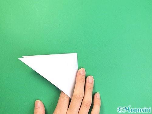 折り紙で立体的な富士山の折り方手順5