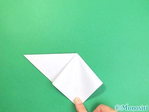 折り紙で立体的な富士山の折り方手順7