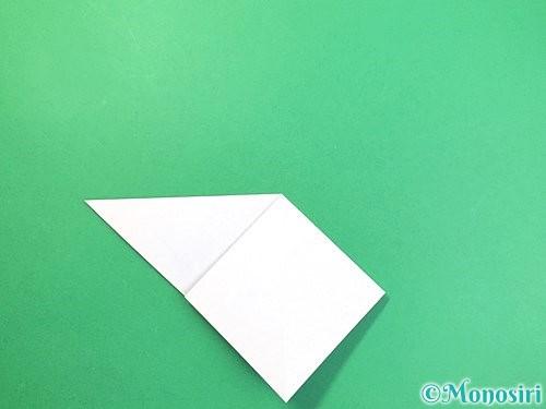 折り紙で立体的な富士山の折り方手順8