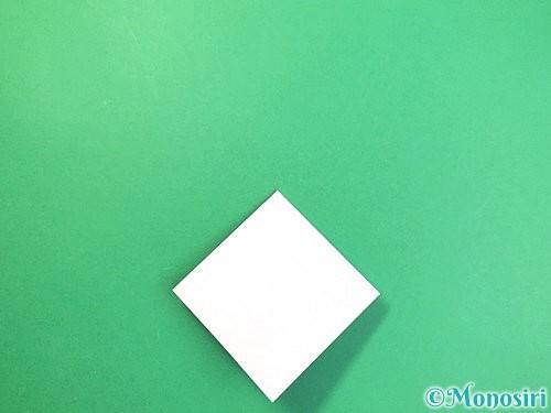 折り紙で立体的な富士山の折り方手順9