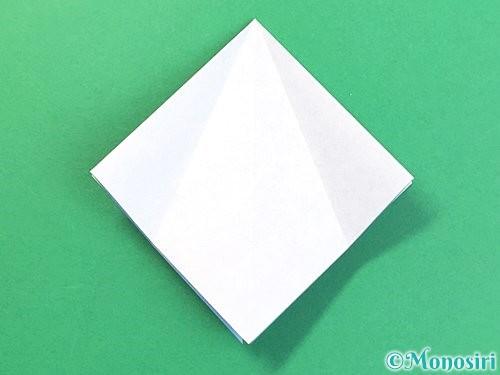 折り紙で立体的な富士山の折り方手順11