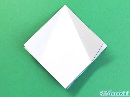 折り紙で立体的な富士山の折り方手順12