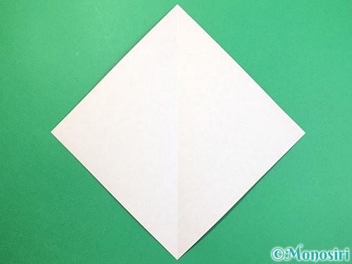 折り紙で達磨の折り方手順2