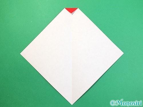 折り紙で達磨の折り方手順4